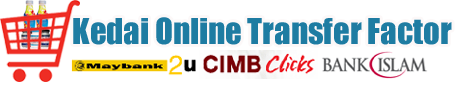 Kedai Online Transfer Factor